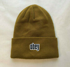 Obey Tall Beanie Highland Tapenade OSFM NEW Snowboard Ski Winter