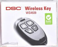 DSC 4-Button Wireless Key WS4939 Home Alarm Security System Control Key Fob NEW