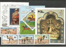 101661 / Asien ** MNH LOT MONGOLIA  WWF FAUNA