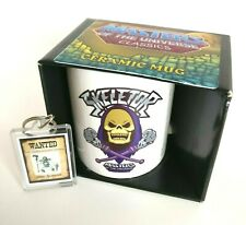 He-Man Masters of the Universe MOTU Skeletor Bad to the Bone Mug And Keyring Set