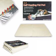 NEW Self Heating Pet Blanket Pad Ideal for Cat/Dog Bed Medium