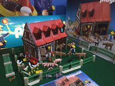Playmobil 3556 Vintage Farm Animals & Figures**Lovely Condition**
