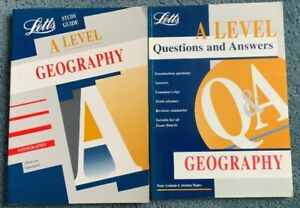 Letts Study + Guide Q & A Books A Level Geography Lines, Bolwell, Fielding Smith