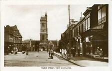 REAL PHOTOGRAPHIC POSTCARD OF CHURCH STREET, WEST HARTLEPOOL, COUNTY DURHAM