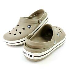 Crocs Mickey Mouse Design Unisex Brown Clogs Size 8 Men 10 Women