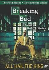 Breaking Bad: Season Five (DVD, 2013, Canadian, FRENCH INCLUDED)