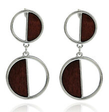 MARNI H&M Silver Color Round Earrings