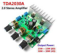TDA2030A 15W+15W 2.0 Channel Stereo Audio Power Amplifier Board 15W*2 Amp Module