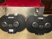 2x Vintage ARRIFLEX 16mm Film Magazines in Carrying Case