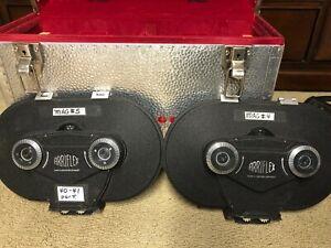 2x Vintage ARRIFLEX 16mm Film Magazines in Carrying Case