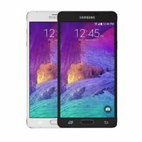 Samsung Galaxy Note 4 32GB Black White Android Smartphone Unlocked N910 - Boxed