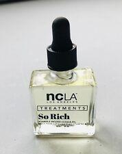New 'ncLa Treatments' So Rich Vitamin E infused Cuticle Oil,