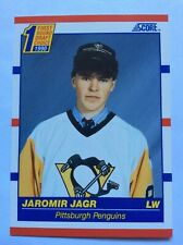 1990 Score Jaromir Jagr Rookie Freshly Pulled From Pack