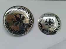 bmw emblem e85 e86 z4 laurel BIMMER 2pc badge emblem logo trunk hood boot new