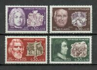 s24998) FRANCE 1968 MNH** Famous persons 4v
