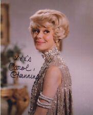 Carol Channing signed 8x10 photo COA