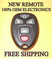 NEW W/ OEM ELECTRONICS GM CHEVY CADILLAC BUICK KEYLESS ENTRY REMOTE FOB 25839476