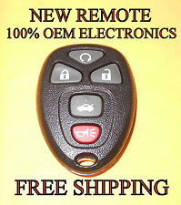 NEW GM CHEVY CADILLAC BUICK KEYLESS ENTRY REMOTE FOB TRANSMITTER OUC60270