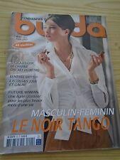 MAGAZINE COUTURE BURDA MASCULIN FEMININ LE NOIR TANGO AOUT  2007 N° 92