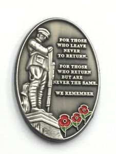 VERSE COLLECTABLE REMEMBRANCE PIN BADGE.