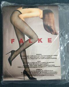 NEW • FALKE HOSIERY • Fish Net Tights • BLACK • Size M • EU 40-42 • Style 40845