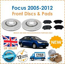 For Focus MK2 2.0TDCi 2005-2012 Two Front Vented 300MM Brake Discs & Brake Pads
