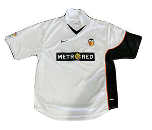 VINTAGE VALENCIA Football Shirt - 2001/2002