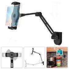 Wall Mount Under Cabinet Tablet Holder Full Motion Tilt Swivel Rotate Universal