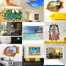 3D Family DIY Removable Art Vinyl Wall Stickers Decal Mural Home Room Kids Decor