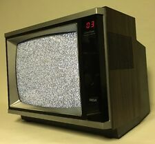 """Vintage RCA Color Track 13""""TV Television Retro Old School 1985 Tested!"""