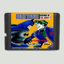 Batman Revenge Of the Joker 16 bit MD Game Card For Sega Mega Drive For Genesis