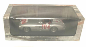 Spark Mercedes 300 SLR #104 Winner Targa Florio 1955 - Moss/Collins 1/43 Scale