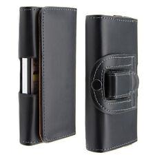 Etui PU Cuir Attache Ceinture Protection Transport pour iPhone 7 Plus / Noir