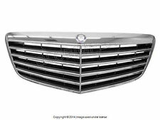 Mercedes w211 Black Grille Assembly GENUINE OEM NEW + 1 year Warranty