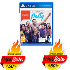 PS4 Ultimate Party Singstar for Playstation 4 - New Ps4 Singstar