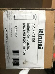 RINNAI INFINITY CONDENSING FLUE (80/125) 1000mm P/N AWFKM-06 NEW FREE P+P