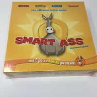 Smart Ass The Board Game by University Games new sealed trivia party game fun