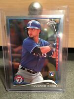 2014 Topps Chrome Texas Rangers Baseball Card #213 Rougned Odor Rookie CARD