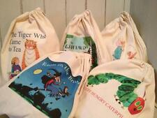 FILL YOUR OWN CHILDMINDER / TEACHER STORY RESOURCE SACK / TOY BAG ANY IMAGE x 5