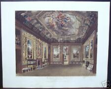 "W. H. Pyne: ""The Queen's Drawing Room, Windsor Castle"""