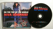 "DIVA SURPRRISE FEAT. GEORGIA JONES ""On The Top Of The World"" 6-Trck-Maxi-CD 1998"