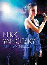 NIKKI YANOFSKY LIVE IN MONTREAL DVD BRAND NEW SEALED