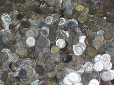 90% U.S. SILVER COINS ONE DOLLAR FACE VALUE 1892-1964 FREE SHIPPING prepper lot