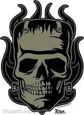 Frankenskull Sticker Decal Kruse RK30 Frankenstein