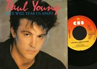 """PAUL YOUNG love will tear us apart 7"""" PS EX/VG dutch"""