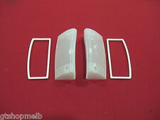 FORD FALCON XY GT GS FRONT INDICATOR LENSES PAIR BRAND NEW WITH GASKETS