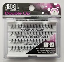 (LOT OF 3) Ardell Duralash Knot-Free DOUBLE UP Flares MEDIUM Individual Lashes