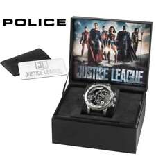 Police Justice League Rubber Strap Limited Edition Gents Watch 14536JQ/02P