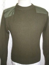 MITTS NITS INC. DSCP VALOR COLLECTION MILITARY 100% WOOL SWEATER SIZE 40 USA