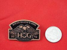 HARLEY DAVIDSON PIN ( HOG ) BIKES BLUES & BBQ 2016